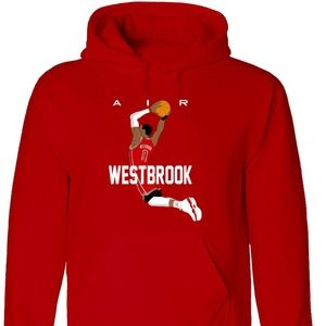 Shedd Shirts Shirts - Russell Westbrook Houston Rockets AIR Hoodie